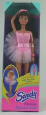 Sindy barbie sized doll Pirouette ballerina dark hair by Hasbro from 1995 NRFB