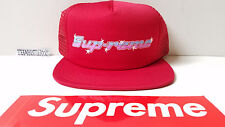 New Supreme Wrench Mesh 5-panel Red Adult size Supreme NYC 2016