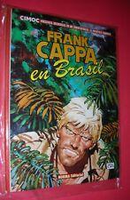 FRANK CAPPA EN BRASIL ALBUM Nº 3 de CIMOC MANFRED SOMMER .NORMA ED. NUEVO !!