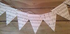 Musica Bunting, ANTICA LIBRERIA MUSICALE Banner, decorazioni, arredamento ufficio, da appendere