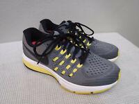 NIKE AIR ZOOM VOMERO II 7 38 Gray Yellow Mesh Running Fitness Sneakers Shoes