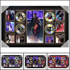 Jason Derulo 4CD Signed Framed Memorabilia LTD - Large - Multiple Variations