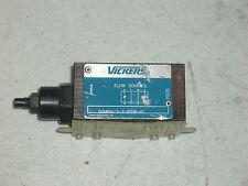 VICKERS HYDRAULIC DGMFN-3-Z-P2W-41 FLOW CONTROL MODULE