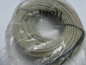 câble coaxial  éthernet - 50ohms mâle-mâle 40M (40 mètres) câble 5mm de diam ext