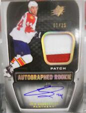2011-12 SPX Erik Gudbranson SP Spectrum Dual Rookie Autograph Jersey # 1 / 25