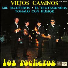 EP los ROCKEROS viejos caminos 45 SPAIN rare 1968 little bit o'soul EX+