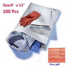 100 9x12 Poly Mailer Envelope Shipping Postal Mailing Self Sealing Bag 2.5 mil