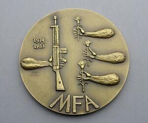 Portuguese Medal. MFA 1974 1983. Movimento das Forças Armadas. Correia Cunharte.