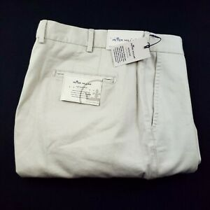 Peter Millar Soft Touch Stretch Twill Cotton Five Pocket Pants 35 x 36 NWT $160