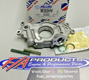 Melling M365HV 2005-2017 Chevy LS 5.3L 6.0L 6.2L Engines High Volume Oil Pump