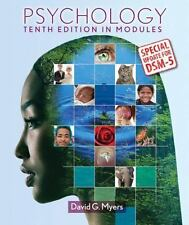 Psychology in Modules, 10th Edition, by Myers, David G.(2014, Hrdcvr)