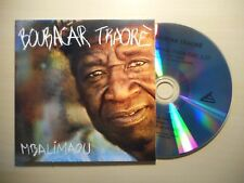 BOUBACAR TRAORE : MBALIMAOU *PROMO* [CD SINGLE]