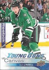 16/17 Upper Deck UD Canvas Young Guns #C93 Esa Lindell
