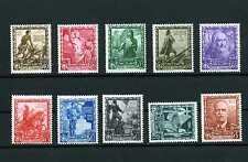 ITALIA REGNO 1937 - Proclamazione dell'Impero completa 10 valori MNH**