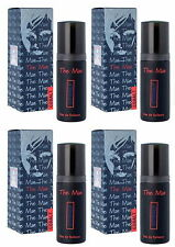 4 PACK THE MAN COBALT BY MILTON LLOYD 50MLEAU DE TOILETTE/AFTERSHAVE SPRAY SMELL