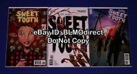 2009 Sweet Tooth 1 2 3 1st Print Jeff Lemire Vertigo DC HOT Series 1 3