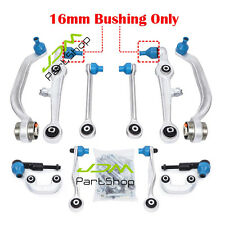 Control Arm Kit Sway Bar Link Outer Tie Rod Set For Audi A4 / RS4 / S4 B5 99-01