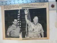 Photograph of United States Army General H Norman Schwarzkopf Jr  1991   8x10