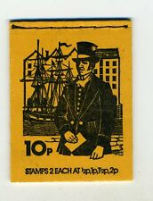 GB 10P BOOKLET OCTOBER 1975 POSTAL UNIFORMS SERIES No. 3
