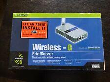Linksys wireless - G PrintServer