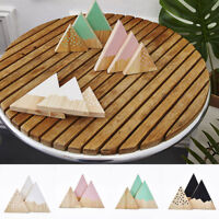 EG_ 3PCS/SET MODERN MOUNTAIN STYLE TRIANGLE SHAPED KIDS BEDROOM DECOR ORNAMENTS