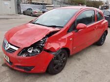 2007 Vauxhall/Opel Corsa 1.2i 16v  Club MOT STARTS+DRIVES SPARES OR REPAIRS