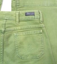 Citizens of Humanity Green Flare JEANS Women TAG: 27 MEAS: 29x34 (95B4)