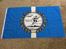 New listing Korean War Veterans Flag/Banner, 1950-1953, New, 3'x5', Polyester, One Sided
