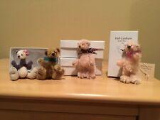 Deb Canham's Bears, group of 4