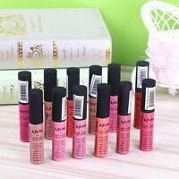 12colour NYX Cosmetics Soft Matte Lip Cream Lipstick Long Lasting   Liquid Gloss