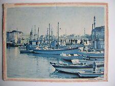 photo couleur papier su support cartonné ancienne , Rubeaux
