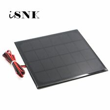 Solar Panel 6V Solar Cell Portable Module Sun Charging Panel Small 1W 2W 3W 4.5W