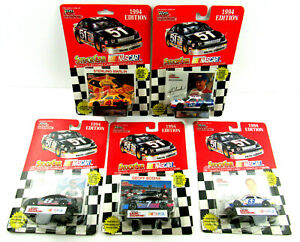 Lot of 5 Vintage 1994 Nascar Racing Champions Cars Stockcar Collectors Card
