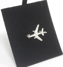 Brooch 925 Small Aeroplane Silver Jewellery 3g Ladies Elegant Gift