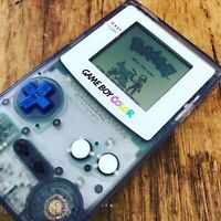 Nintendo GameBoy Color - Refurbished Colour Game Boy Handheld GBC White Purple