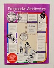 1974 PROGRESSIVE ARCHITECTURE Design & Planning HERMAN MILLER Propst Hauserman