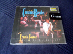 CD COUNT BASIE Frank Foster Orchestra Live At El Morocco TELARC JAZZ Sealed 1992