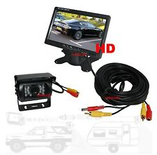 "Rear View Backup Camera System - 7"" LCD + IR CCD Camera"