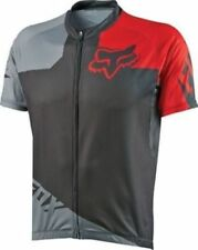 Fox Livewire Race Short Sleeve Cycling Jersey Grey/Red Small New