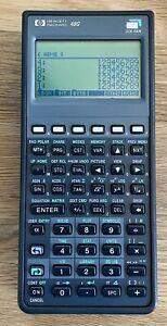 Very Nice Vintage Hewlett Packard HP 48G Graphing Calculator