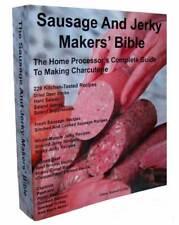 Sausage Making Book Teaches You How To Make Sausage Jerky Bacon Salami Kielbasa