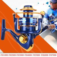 12Ball Bearing Bait Casting Spinning Saltwater Fishing Reel Wheel High Speed #U