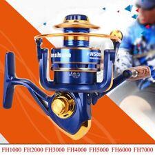 12Ball Bearing Bait Casting Spinning Saltwater Fishing Reel Wheel NICE