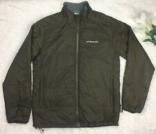Kolumb Mens Army Green Hiking Outdoor Jacket Size M