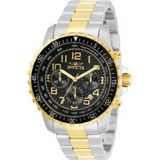 Invicta Specialty 30792 Men's Black Dial Two-Tone Chronograph Tachymeter Watch