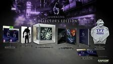 XBOX 360 gioco Resident Evil 6 COLLECTOR 'S EDITION Merce Nuova