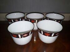 ROYAL CROWN DERBY A1314 5 CUPS