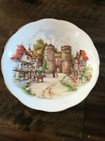 """Vintage Roslyn China Saucer England BEAUTIFUL BRITAIN SERIES 5.5"""""""