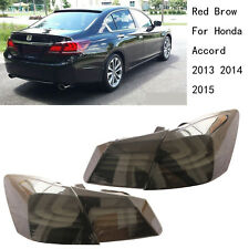 Red Brown Rear LED Tail light Lamp BMW style New For Honda Accord 2013 2014 2015