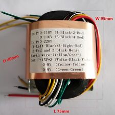R30 40W R-core Power Supply Transformer 15V-0-15V for 1794 4399 4495 DAC Board